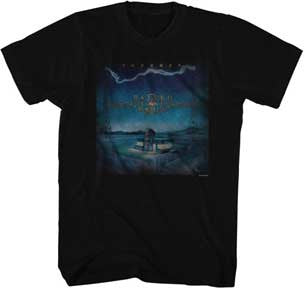 Journey-Raised On Radio-Black t-shirt