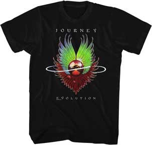 Journey-Evolution-Black t-shirt