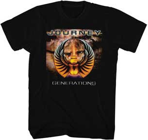 Journey-Generations-Black t-shirt