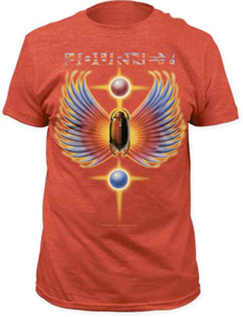 Journey - Hits - Heather Red t-shirt