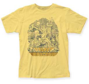 Velvet Underground NYC Banana Fitted T-shirt
