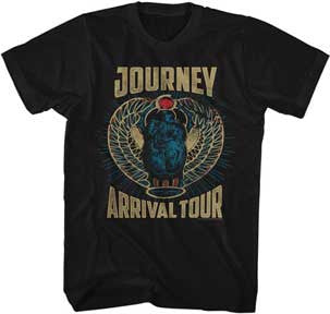 Journey Arrival Tour Black Lightweight t-shirt