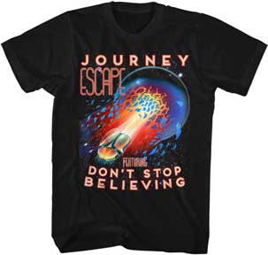 Journey Escape Black Lightweight t-shirt