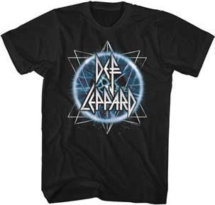 Def Leppard Electric Eye Black Lightweight t-shirt