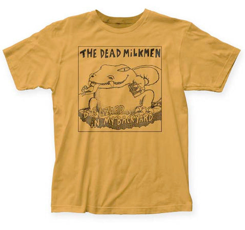 Dead Milkmen Big Lizard Ginger Fitted t-shirt