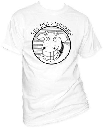 Dead Milkmen Cow White t-shirt