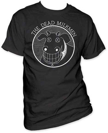 Dead Milkmen Cow Black t-shirt
