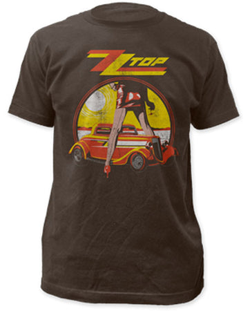 ZZ Top Legs Coal Lightweight t-shirt