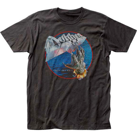 Dokken-Tooth and Nail Black t-shirt