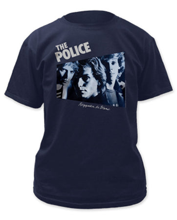 The Police-Regatta De Blanc-Navy t-shirt