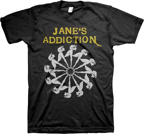 Jane's Addiction-Lady Wheel t-shirt