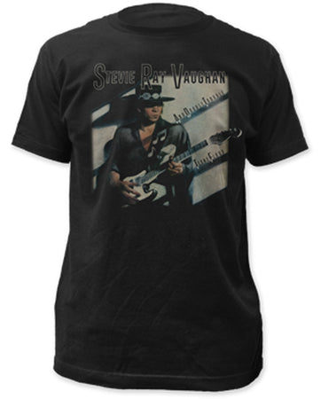Stevie Ray Vaughan Texas Flood-Black t-shirt