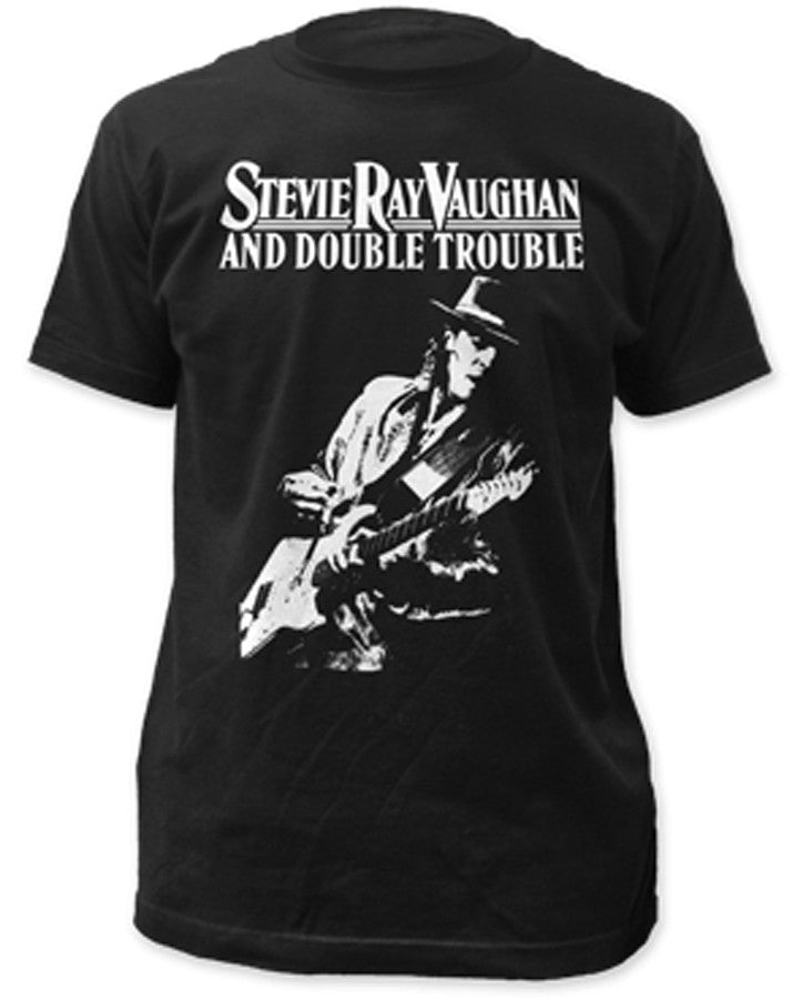 Stevie Ray Vaughan Live Alive-Black t-shirt