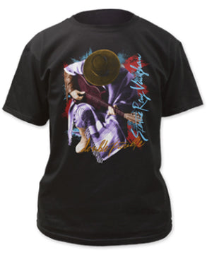 Stevie Ray Vaughan In Step-Black t-shirt