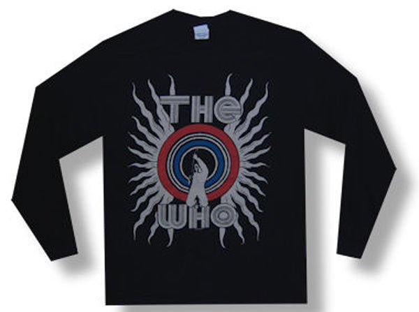 The Who - Powerslide - Black Longsleeve T-shirt
