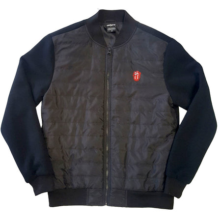 Rolling Stones - Classic Tongue - Quilted Jacket