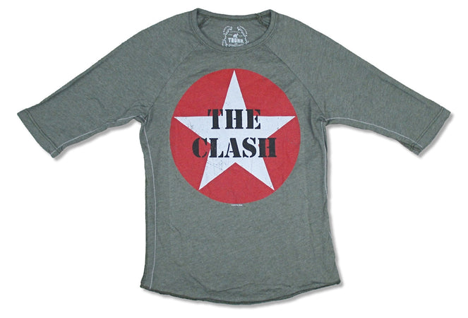 The Clash-Star Logo-Longsleeve-KIDS SIZE Trunk Ltd T-shirt