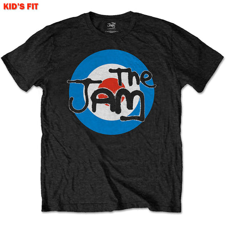 The Jam - Spray Target-KIDS SIZE Black T-shirt
