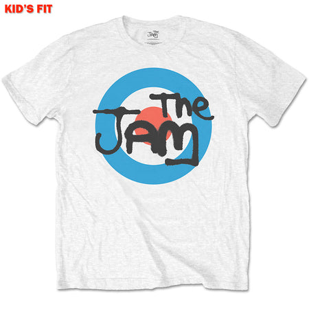 The Jam - Spray Target-KIDS SIZE White T-shirt