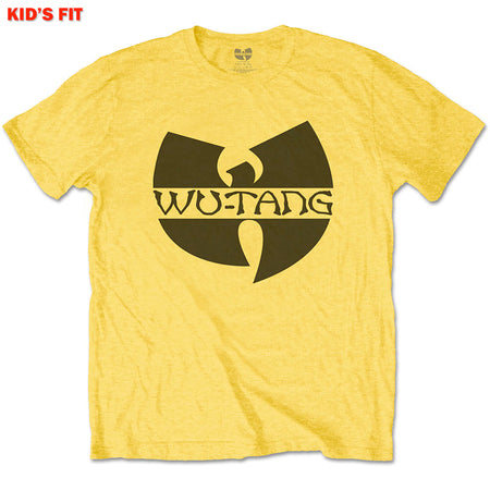 Wu Tang Clan - Logo-KIDS SIZE Yellow T-shirt