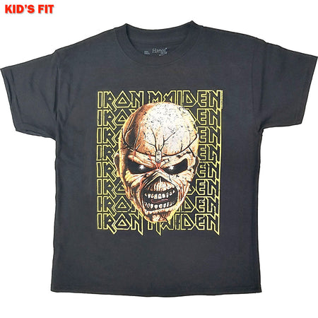 Iron Maiden - Big Trooper Head-KIDS SIZE Black T-shirt