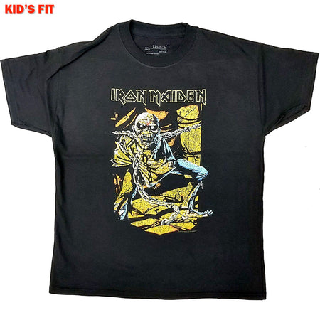Iron Maiden - Piece Of Mind-KIDS SIZE Black T-shirt