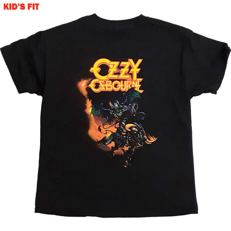 Ozzy Osbourne-Demon Bull-KIDS SIZE Black T-shirt