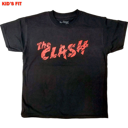 The Clash-Logo-KIDS SIZE Black T-shirt