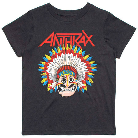 Anthrax - War Dance-KIDS SIZE Black T-shirt