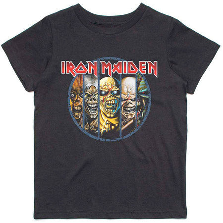 Iron Maiden - Evolution-KIDS SIZE Black T-shirt