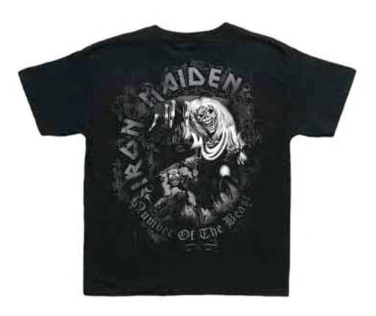 Iron Maiden - Number Of The Beast-KIDS SIZE Black T-shirt
