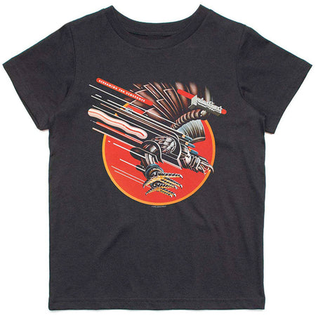 Judas Priest - Screaming-KIDS SIZE Black T-shirt