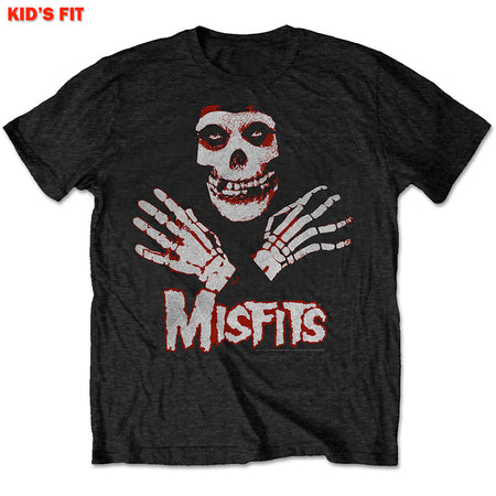 Misfits - Hands-KIDS SIZE Black T-shirt