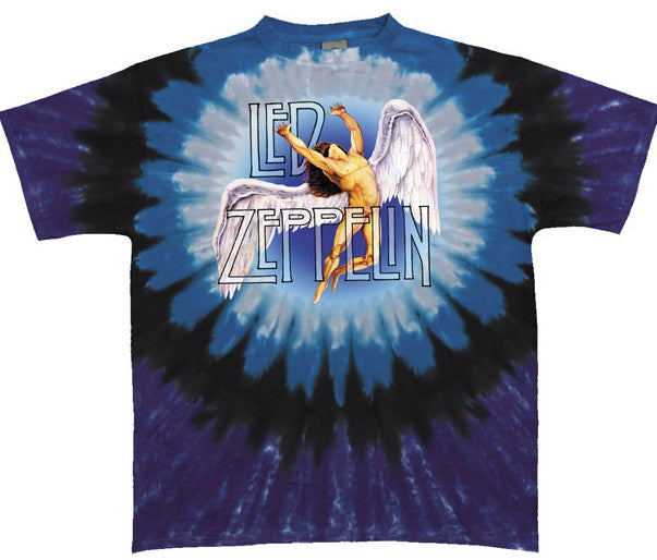 Led Zeppelin Swan Song Tye Dye T-shirt