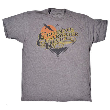 Creedence Clearwater Revival - Bayou Country - Grey Poly Cotton Blend t-shirt