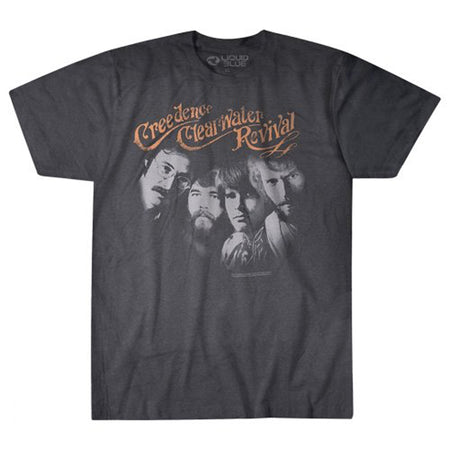 Creedence Clearwater Revival - Pendulum #2 - Charcoal Grey t-shirt