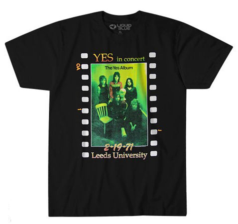 Yes - Live At Leeds - Black t-shirt