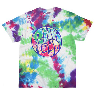 Pink Floyd  - Light Show -  Tie Dye  t-shirt