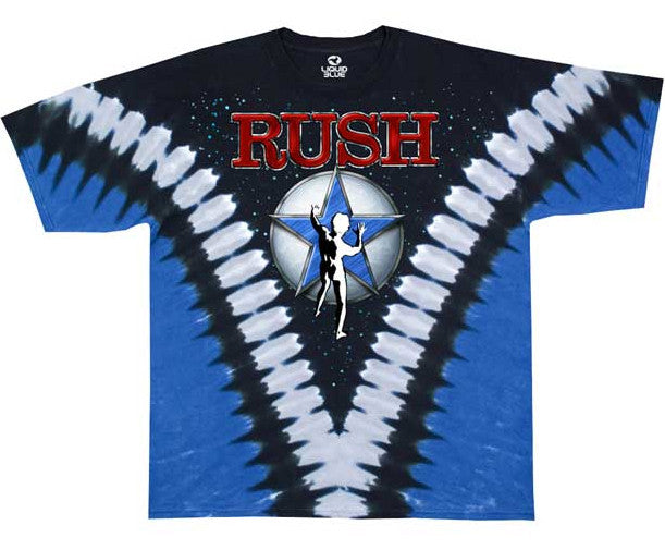 Rush  Starman Tye Dye T-shirt