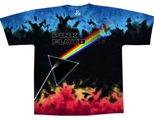 Pink Floyd Us and Them Tye Dye print t-shirt