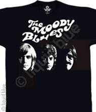 The Moody Blues Silhouette  Black t-shirt