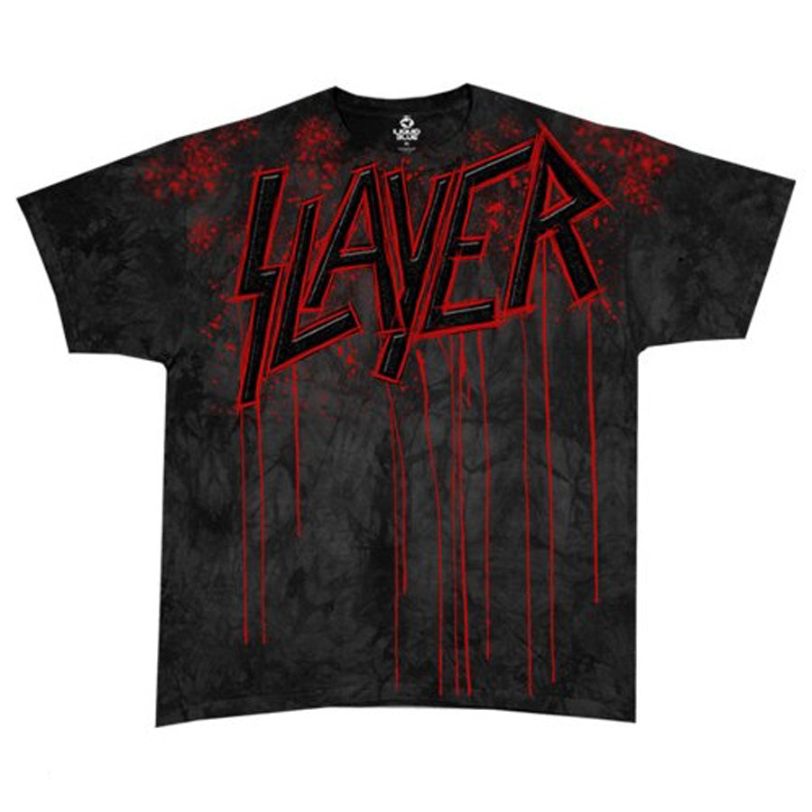 Slayer Raining Blood Tye Dye T-shirt