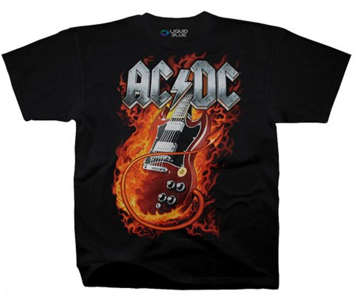 AC/DC - Thunderstruck - Black t-shirt