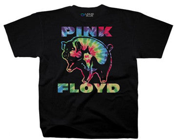 Pink Floyd  Psychedelic Pig Black t-shirt