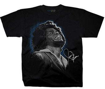 James Brown Godfather Of Soul Black T-shirt