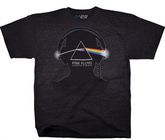 Pink Floyd Dark Side Beats Heather Charcoal Poly Cotton t-shirt