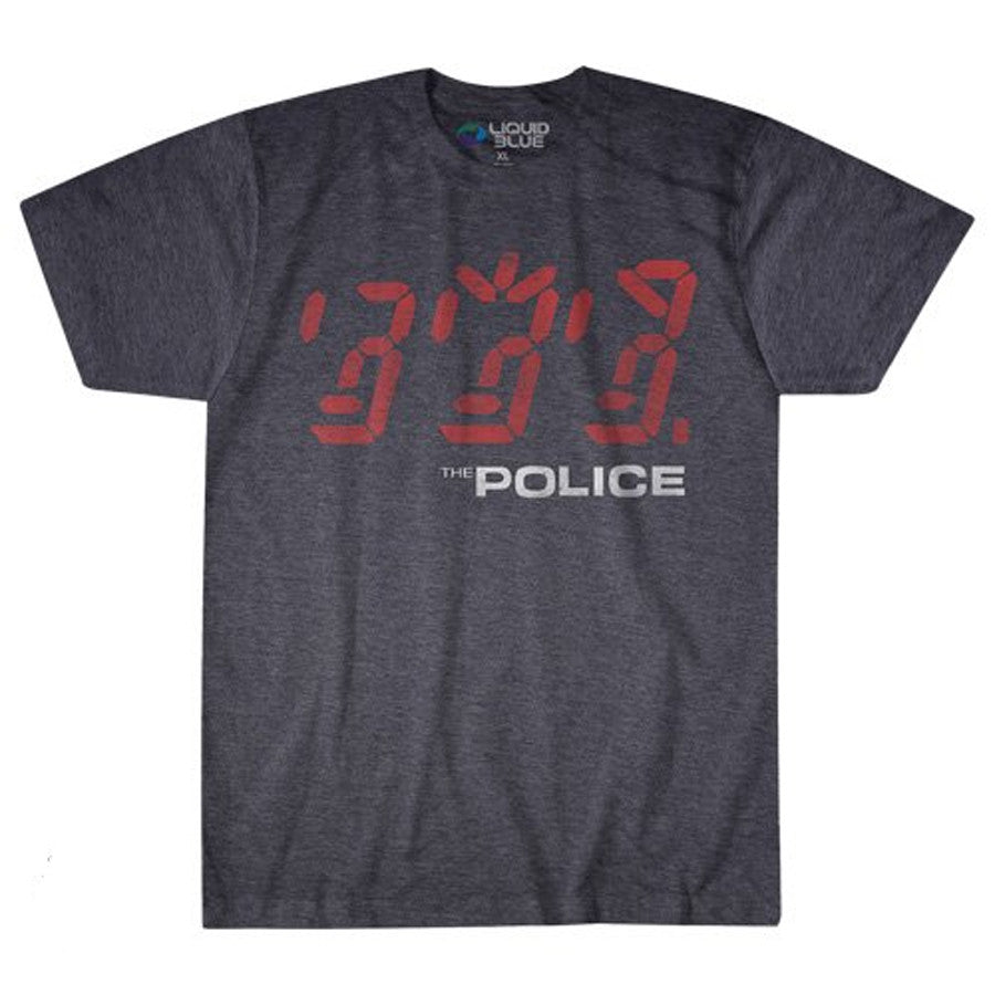 The Police-Ghost In The Machine-Grey Poly Cotton t-shirt