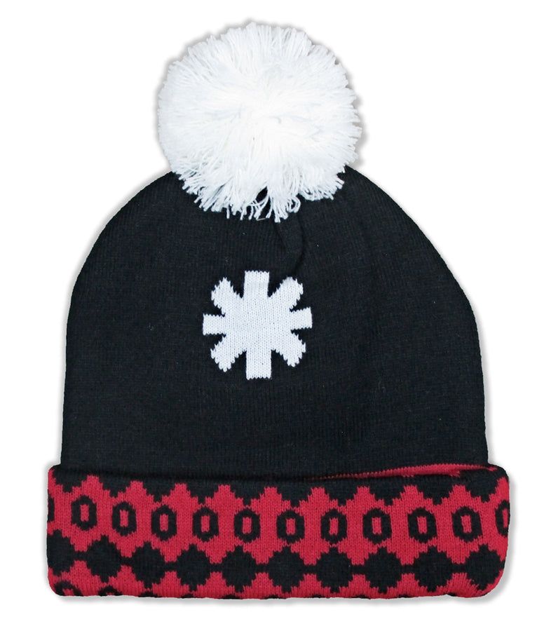Red Hot Chili Peppers - Asterisk - Holiday Pom Pom - Beanie Ski Cap