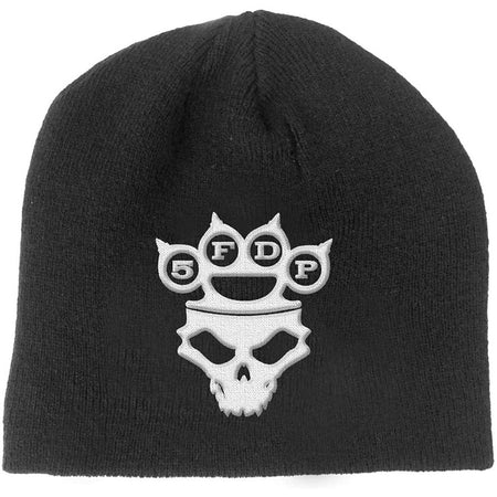Five Finger Death Punch - Knuckle Duster - Black OSFA Beanie Cap