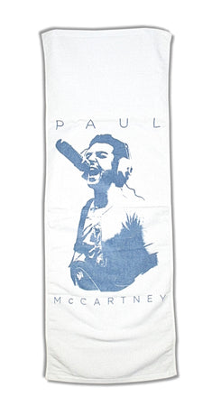 "Paul McCartney - Studio Pic -Out There Tour - Arena Sports  16"" x 44"" Towel"